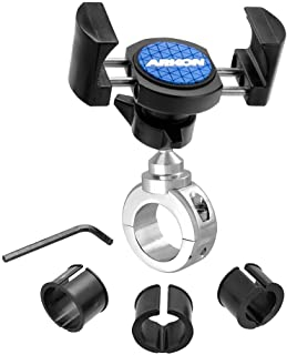 Arkon Mounts RoadVise Motorcycle Phone Mount for iPhone 12 11 XS XR X Galaxy Note 20 10 S20 S10 Retail Chrome