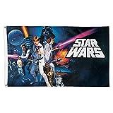 Star War Classic Bild Luke Darth Vader HAN SOLO Logo 3X 5Fuß Flagge Disney Offizielles Lizenzprodukt