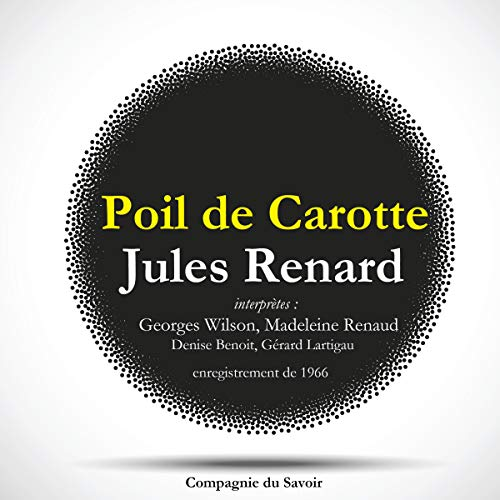 Poil de carotte audiobook cover art