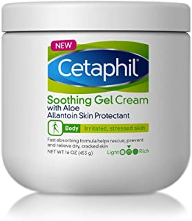 Cetaphil Soothing Gel-cream with Aloe Instantly Soothes and Hydrates Sensitive Skin, 16 Ounce