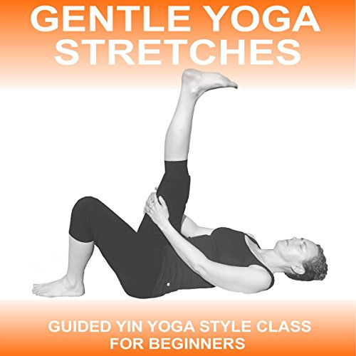 Gentle Yoga Stretches audiobook cover art