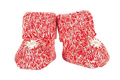 AlpenSocks Trachten Baby Socken - BABY - hellblau, rosa, rot, Größe One size