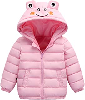 Baby Boy Girl Clothes Winter, Toddler Kids Solid Long Sleeve Cute Ear Hoodies Coat Zipper Outwear