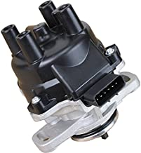 AIP Electronics Complete Premium Electronic Ignition Distributor Compatible Replacement For 1995-1999 Nissan 200SX Sentra 1.6L NS24 22100-0M200 Oem Fit DOM200