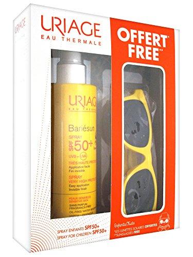 Uriage Coffret Bariésun Spray Enfant SPF 50+ 200 ml + 1 Paire de Lunettes de Soleil Offerte