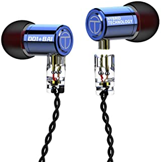 Senlee TRN M10 1DD 1BA Monitor Earbuds, Hybrid HiFi in Ear Earphone with 30095 Balanced Armature and 8mm Dynamic Driver TR... photo