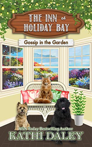 "alt=""A heartwarming cozy mystery series about losing everything, taking a chance, and starting again.  After suffering a personal tragedy Abby Sullivan buys a huge old seaside mansion she has never even seen, packs up her life in San Francisco, and moves to Holiday Bay Maine, where she is adopted, quite against her will, by a huge Maine Coon Cat named Rufus, a drifter with her own tragic past named Georgia, and a giant dog with an inferiority complex named Ramos. What Abby thought she needed was alone time to heal. What she ended up with was, an inn she never knew she wanted, a cat she couldn't seem to convince to leave, and a new family she'd never be able to live without.  In book 9 in the series, Abby works with Lonnie and Lacy to uncover secrets long buried in the mansion on the bluff Lonnie is refurbishing, Georgia meets a mysterious woman with a secret of her own, and a new group of guests check into the inn each with a story of their own."""