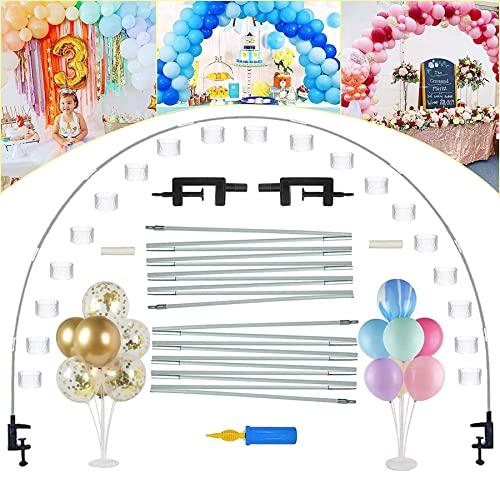 Kit de arco para globo, guirnalda de arco, kit de arco, con soporte, decoración de fiesta, arco de globo, guirnalda de arco, arco de globo, arco de cumpleaños, boda, guirnalda