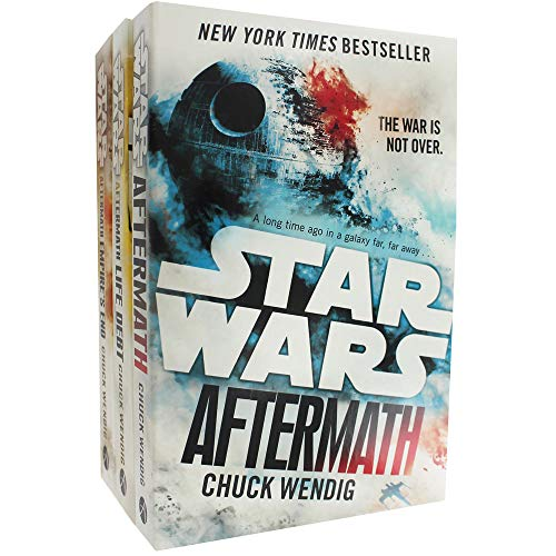 Chuck Wendig Star Wars - Aftermath Trilogy – Set mit 3 Büchern (in englischer Sprache)