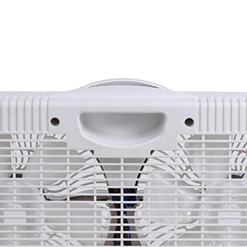 Genesis Twin Window Fan with 9 Inch Blades,