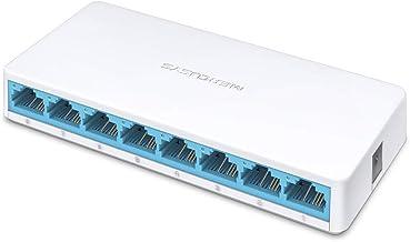 Mercusys MS108 8-Port 10/100Mbps Desktop Switch (White)