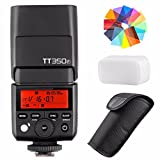 Godox TT350F 2.4G HSS 1/8000s TTL GN36 Camera...