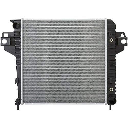 DNA Motoring OEM-RA-2764 2764 OE Style Bolt-On Aluminum Core Radiator Replacement