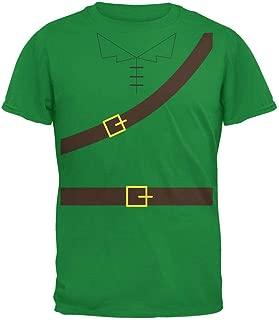 Old Glory Halloween Robin Hood Costume Irish Green Adult T-Shirt