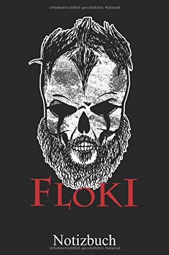 Floki - Wikinger Notizbuch: Nordische Mythologie Notizheft, Schreibheft, Tagebuch (Taschenbuch ca. DIN A 5 Format Liniert) von JOHN ROMEO