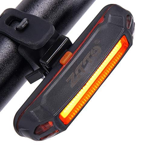 Luz Trasera De Seguridad, Ultra Brillante USB Recargable LED Luz De Bicicleta...