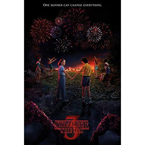 Stranger Things Maxi Poster One Summer, Non Laminato, 61x91.5 cm