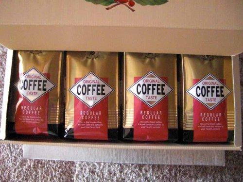 【gift】コーヒー1kgギフト(250g×4) ネルドリップ用