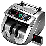 Money Counter Machine with UV/MG/IR/MT, Kaegue Bill Currency Counter Machine, Cash Counting Machine with 6 Modes, 100-240V, 2 Years Warranty