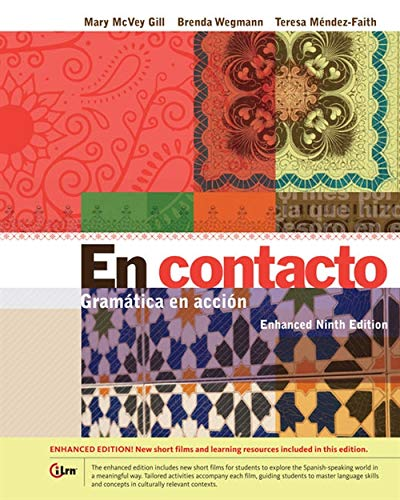 En contacto, Enhanced Student Text: Gramática en accion (World Languages)