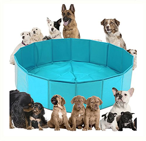 DAN Foldable Dog Pet Bath Pool,Collapsible Dog Pet Pool Bathing Tub for Dogs Or Cats