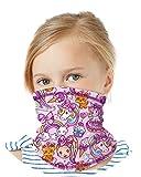'Nickelodeon Girls Jojo Siwa Gaiter Face Mask with UV Sun Protection, Size 4-10, Jojo Siwa'