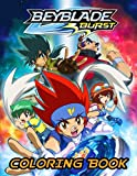 Beyblade Burst Coloring Book: Easy Coloring Book For Unleashing Artistic Abilities, Relaxation, Stress Relieving, And Having Fun With Amazing Designs Of Beyblade Burst