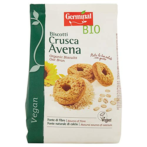 Germinal Bio Biscotti Crusca Avena - 250 gr