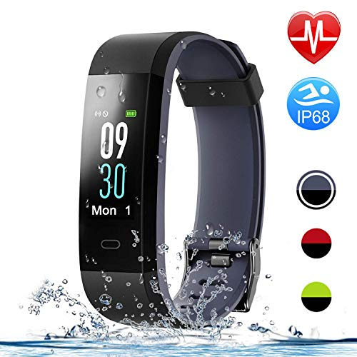 HolyHigh 115C Fitness Band,Wateproof Activity...