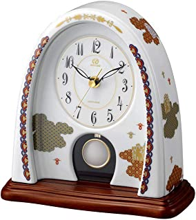 Rhythm Plastic Analog Clock - Desk & Shelf Clocks