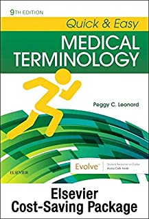 Quick & Easy Medical Terminology - Text and Elsevier Adaptive Learning Package