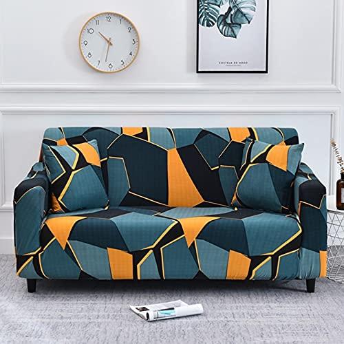 WXQY Necesita Comprar 2 Piezas de Funda de sofá elástica en Forma de L, Funda de sofá Universal para Todas Las Estaciones en la Sala de Estar A9 1 Plaza