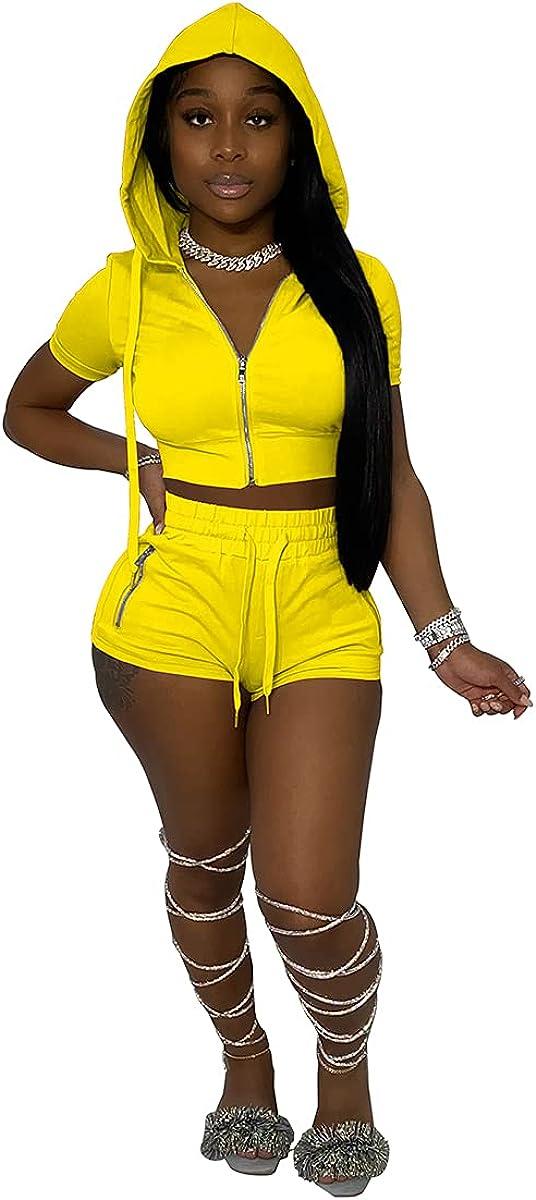 IVANLUNA Sexy Solid Two Piece Shorts 2021 Summer Women Off Shoulder Set