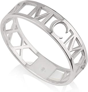 Best sterling silver roman numeral ring Reviews