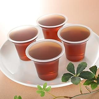 介護用飲料 国産ほうじ茶使用(水分補給用)無糖ゼリー 100g 40個入り 嚥下補助  送料無料