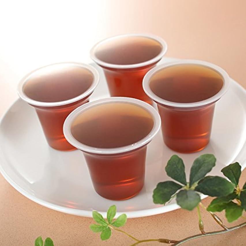 手つかずの伝染性のモンキー介護用飲料 国産ほうじ茶使用(水分補給用)無糖ゼリー 100g 40個入り 嚥下補助  送料無料