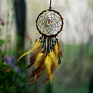 ZGPTX Dream Catcher Pendant Hand-Woven Ins Wind Girl Heart Creative Wind Chime Gift Student Crafts Decorations