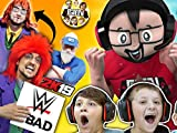 Clip: WWE 2K19 Wrestling! Our Donkey Fights Cringey Principal And We Famous!