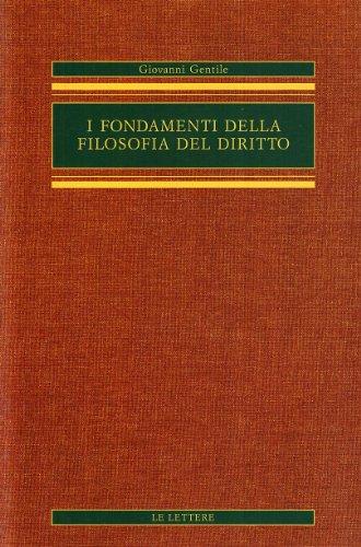 I fondamenti della filosofia del diritto