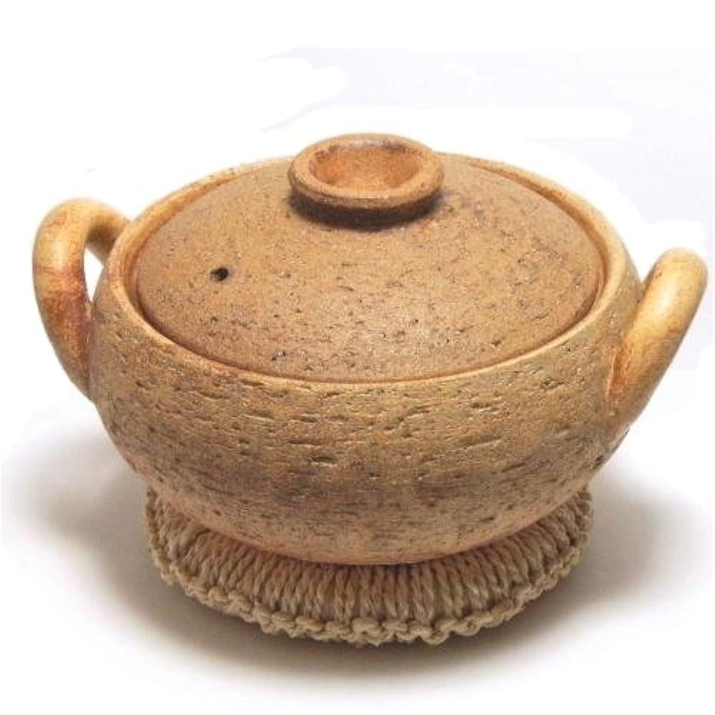 バングラデシュスパイラル復讐長谷園 みそ汁鍋 (小) CT-40