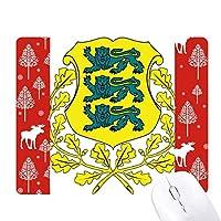 エストニア国家エンブレムの国 クリスマス森嶺