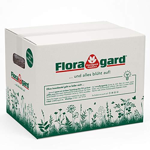 Floragard Bio Erde Lecker im Karton 35 Liter - für Tomaten, Gemüse, Beeren und Hochbeete - torffrei und vegan