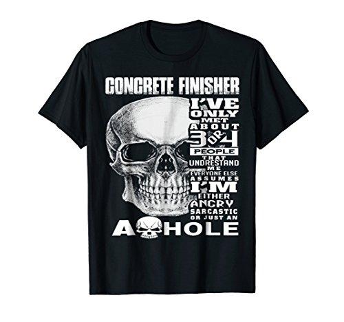 Concrete Skull T Shirt