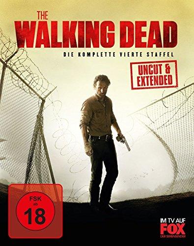The Walking Dead - Staffel 4 (Uncut/Extended) [Blu-ray]