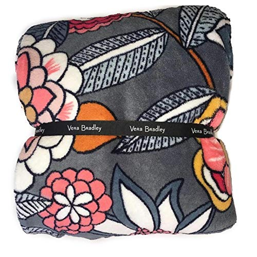 Vera Bradley Throw Blanket Tropical Evening 80' x 50'