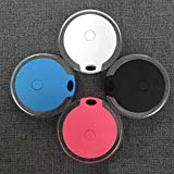 Shoplifemore Rastreador de mascotas, collar de perro GPS, soporte de silicona para collar de perro, funda protectora compatible con mini mascotas de seguimiento localizador GPS (negro)