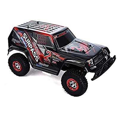 High Speed FY-04 1 / 12 Full Scale 4WD 2.4G High Speed Crossing Car Off Road Racer 4Channels Desert Off-Road RC Car for Kids Best Christmas Gift