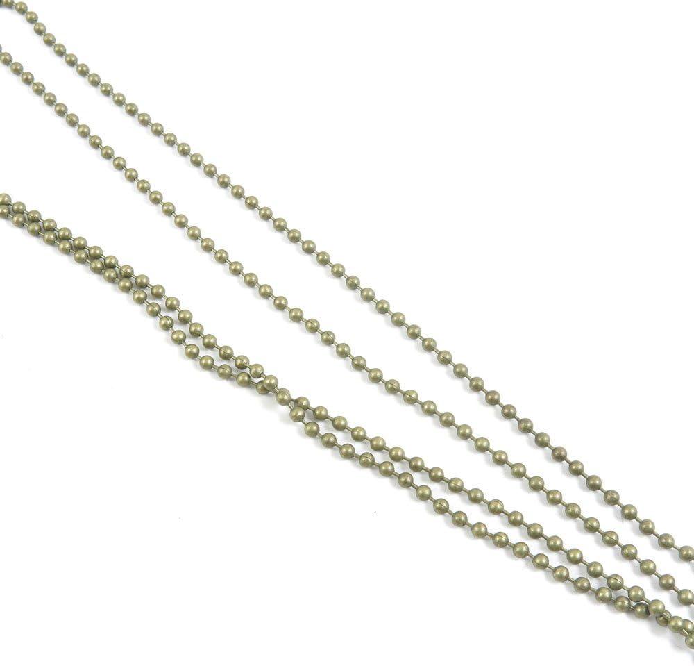 120 PCS Jewelry Making Chains Jew Fashion Mesa Mall Ancient Bronze Antique Large-scale sale