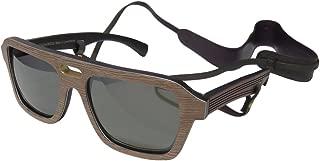 Gold & Wood Ashbury Mens/Womens Designer Full-rim Wood Polarized Lenses Spring Hinges Sunglasses/Eyewear
