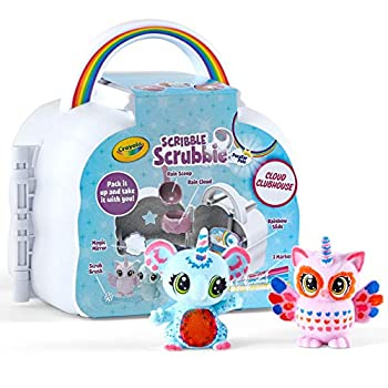 Crayola Scribble Scrubbie Cloud Playset Toy for Kids Gift Ages 3 4 5 6